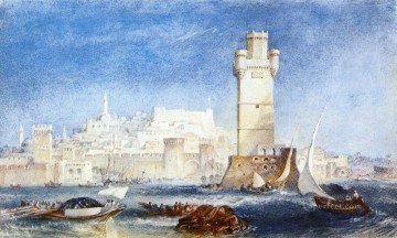 Joseph Mallord William Turner Painting - Rhodes Romantic Turner