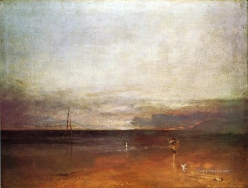 Joseph Mallord William Turner Painting - Rocky Bay with Figures2 Romantic Turner