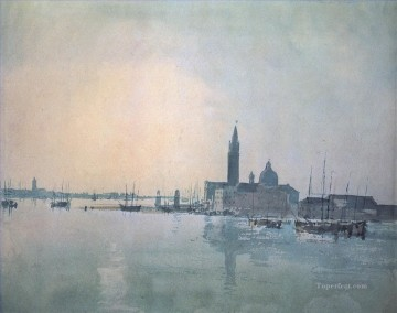 San Giorgio Maggiore in the morning Romantic Turner Oil Paintings