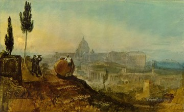 St Peter s from the south Turner Oil Paintings