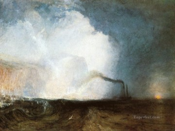 Joseph Mallord William Turner Painting - Staffa Fingals Cave Romantic Turner