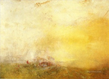 Turner Art - Sunrise with Sea Monsters Turner
