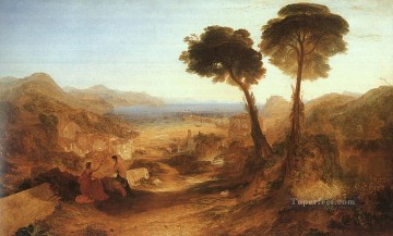 The Bay of Baiae with Apollo and the Sibyl Romantic Turner Oil Paintings