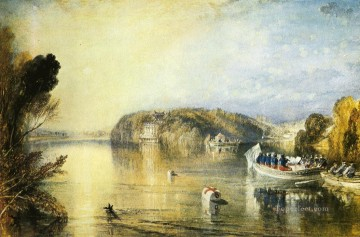 romantic romantism Painting - Virginia Water Romantic Turner