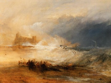 Joseph Mallord William Turner Painting - Wreckers Coast of Northumberland Romantic Turner