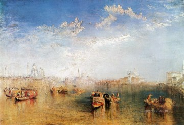 aka works - Giudecca la Donna della Salute and San georgio aka The Guidecca landscape Turner