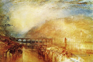 Joseph Mallord William Turner Painting - Heidelberg Romantic Turner