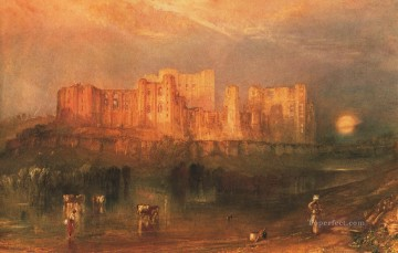 Kenilworth Castle Romantic Turner Oil Paintings