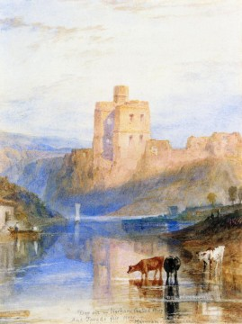 Joseph Mallord William Turner Painting - Norham Castle on the Tweed Turner