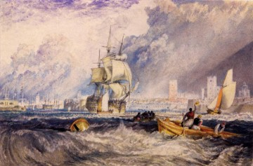 Joseph Mallord William Turner Painting - Portsmouth Romantic Turner