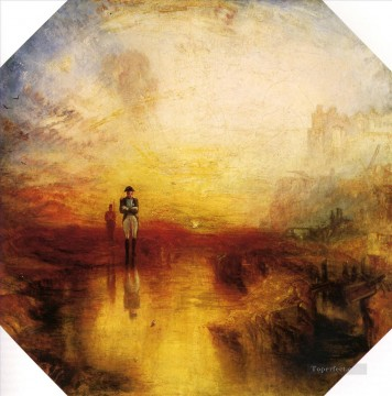 The exile and the snail Romantic Turner Oil Paintings
