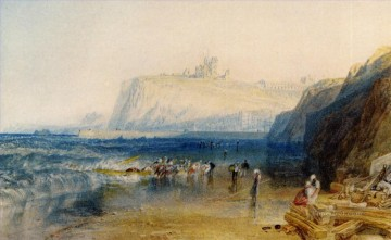Joseph Mallord William Turner Painting - Whitby Romantic Turner