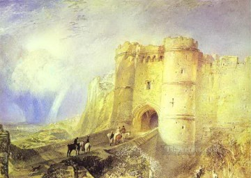 Carisbrook Castle Isle of Wight Turner Oil Paintings
