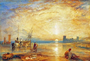 Turner Art - Flint Castle Turner