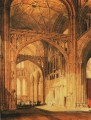 Interior of Salisbury Cathedral Romantic Turner