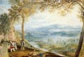 Kirby Londsale Churchyard Romantic Turner