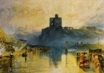 Joseph Mallord William Turner Painting - Norham Castle on the River Tweed Romantic Turner
