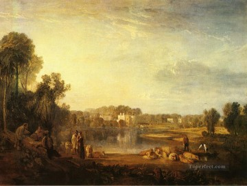 Joseph Mallord William Turner Painting - Popes Villa at Twickenham Romantic Turner