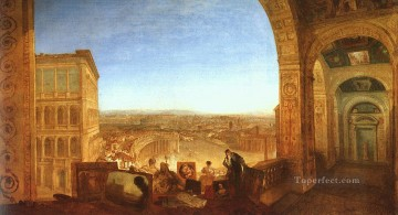 Joseph Mallord William Turner Painting - Rome from the Vatican 1820 Romantic Turner