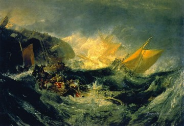 Shipwreck Turner Oil Paintings