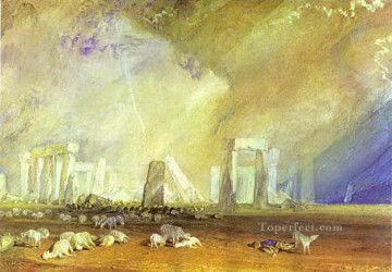 Joseph Mallord William Turner Painting - Stonehenge Turner