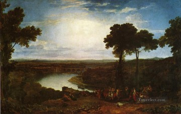Turner Works - The Festival Upon the Opening of the Vintage at Macon landscape Turner