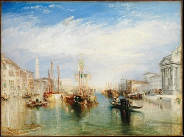 Joseph Mallord William Turner Painting - The Grand Canal Venice Romantic Turner
