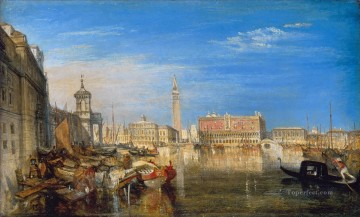 Bridge of Sighs Ducal Pala Turner Oil Paintings