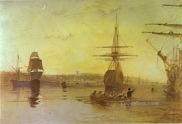 Turner Art - Cowes Isle of Wight Turner