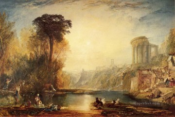 Turner Art - Landscape Composition of Tivoli Turner