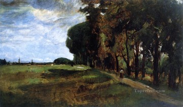 View near Polling John Henry Twachtman Oil Paintings