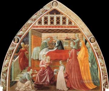 Birth Of The Virgin early Renaissance Paolo Uccello Oil Paintings