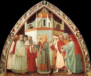 Disputation Of St Stephen early Renaissance Paolo Uccello Oil Paintings