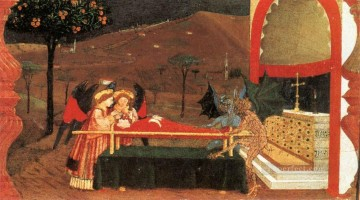 renaissance works - Miracle Of The Desecrated Host Scene 6 early Renaissance Paolo Uccello
