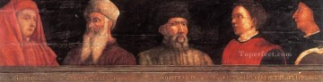 Five Famous Men early Renaissance Paolo Uccello Oil Paintings