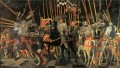 Micheletto da Cotignaola Engages In Battle early Renaissance Paolo Uccello