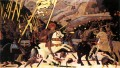 Niccolo da Tolentino Leads The Florentine Troops early Renaissance Paolo Uccello