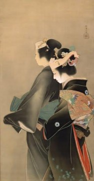 women Painting - Springtime of Life Uemura Shoen Bijin ga beautiful women