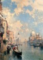 The Grand Canal Venice Franz Richard Unterberger Venice