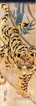 tiger 1 Utagawa Kuniyoshi Ukiyo e Oil Paintings