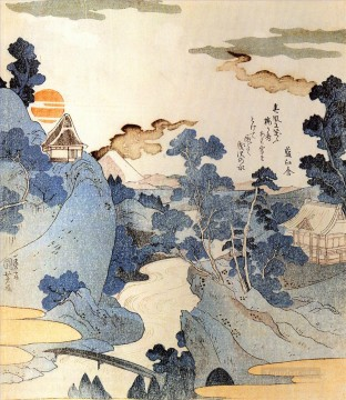 view of mt fuji 1 Utagawa Kuniyoshi Ukiyo e Oil Paintings