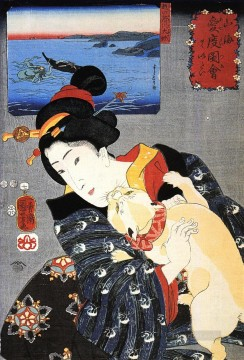 women 28 Utagawa Kuniyoshi Ukiyo e Oil Paintings