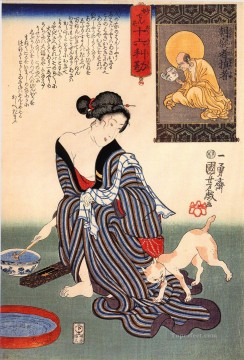women 20 Utagawa Kuniyoshi Ukiyo e Oil Paintings