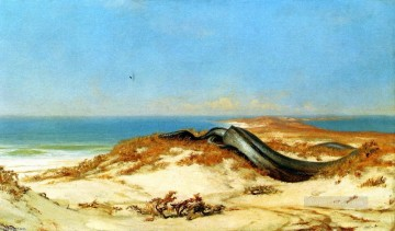 symbolism Painting - Lair of the Sea Serpent symbolism Elihu Vedder