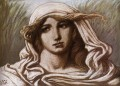 Head of a Young Woman 1900 symbolism Elihu Vedder