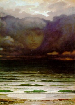 Memory symbolism Elihu Vedder Oil Paintings
