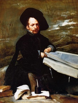 A Dwarf Holding a Tome in His Lap aka Don portrait Diego de Acedo el Primo portrait Diego Velazquez Oil Paintings