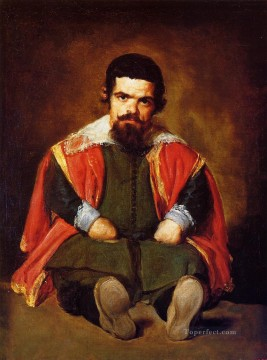 Diego Velazquez Painting - A Dwarf Sitting on the Floor portrait Diego Velozquez