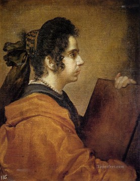 A Sibyl portrait Diego Velazquez Oil Paintings