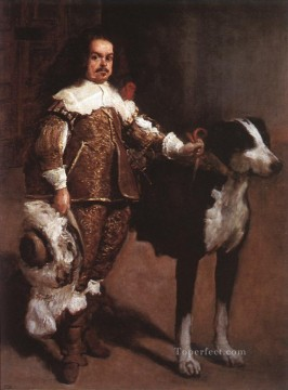 Court Dwarf Don Antonio el Ingles portrait Diego Velazquez Oil Paintings